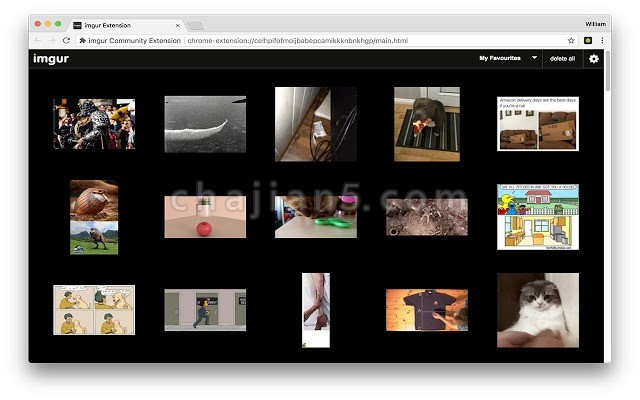 imgur Community Extension 将图片添加到imgur