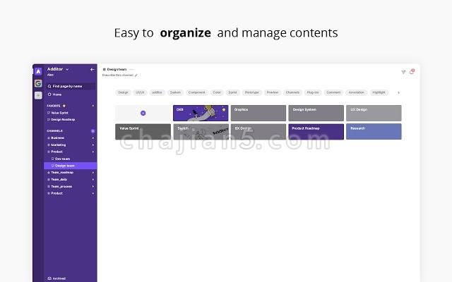Additor 方便收藏网页文本、文件、视频可以选中文字高亮显示