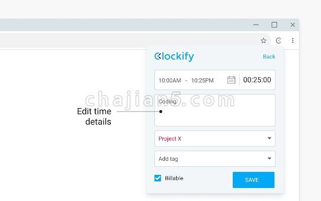 Clockify Time Tracker 时间追踪器 看看你网上的时间花在哪里了
