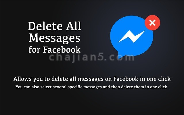 Delete All Messages for Facebook™一键删除Facebook上的所有消息记录