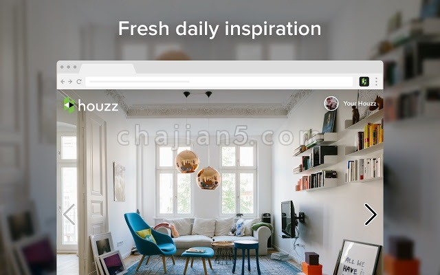 Houzz Save Button 随时记录点子/想法的插件(家居设计师福利)