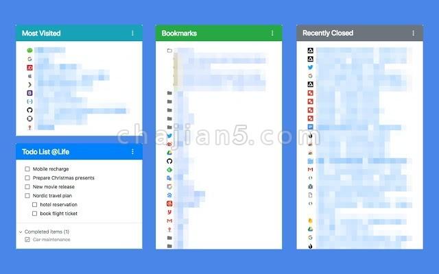 Re-newtab高效实用的 Chrome 新标签页扩展