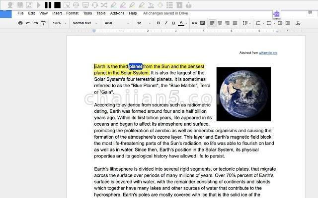 Read&Write for Google Chrome™ 有助于阅读和写作的插件
