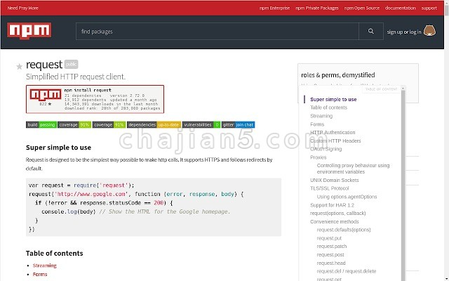 Smart TOC 自动给网页生成目录导航的插件