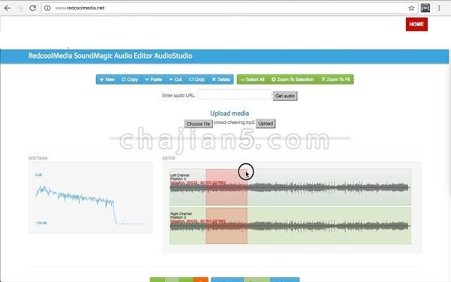 SoundMagic 创建、编辑、复制、剪切、粘贴和裁剪音频 MP3 WAV文件