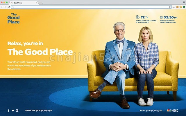 The Good Place 新标签页