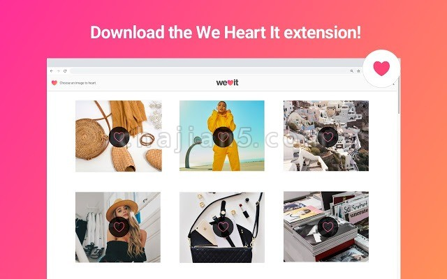 We Heart It官方插件
