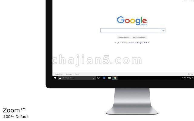 Zoom for Google Chrome 放大或缩小网页内容 缩放插件
