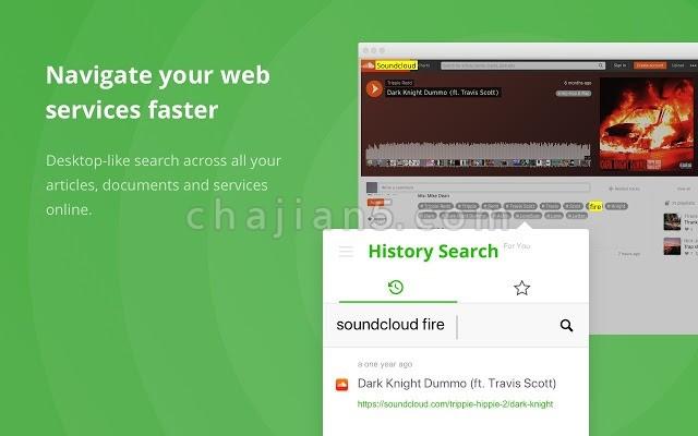 History Search 网页浏览记录搜索