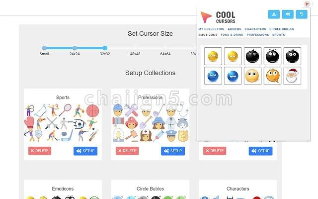 Chrome™酷光标 Cool Cursors