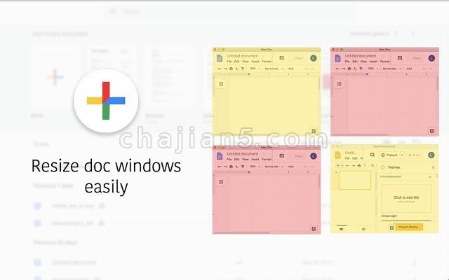 Editing for Google Drive通过扩展菜单轻松访问、查看、编辑Google文档