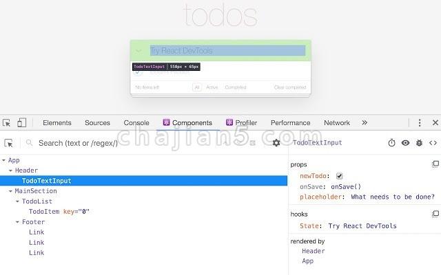 React Developer Tools 审查 React 组件的开发者工具