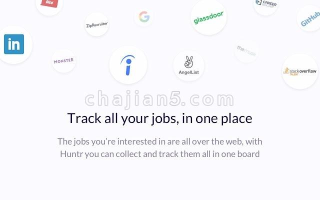 Huntr: Job Search Tracker 对求职信息进行管理