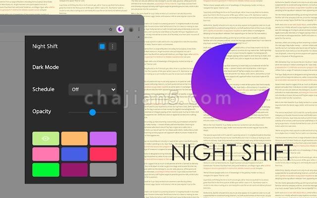 Dark Theme for Chrome 夜间主题模式