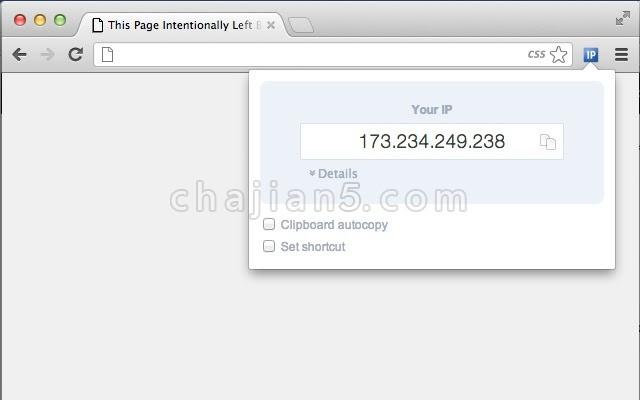 IP-Address 快速查看自己设备真实的IP地址