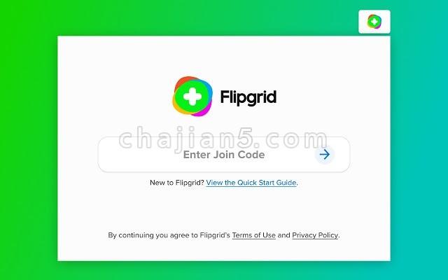 Flipgrid 浏览器端快速访问辅助插件