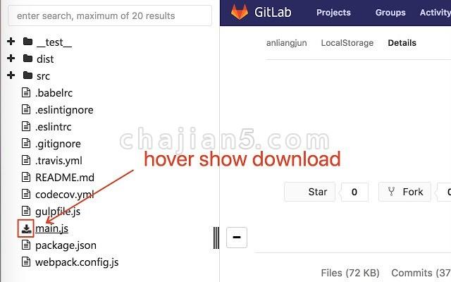 gitlab-code-view 树状结构浏览gitlab的代码