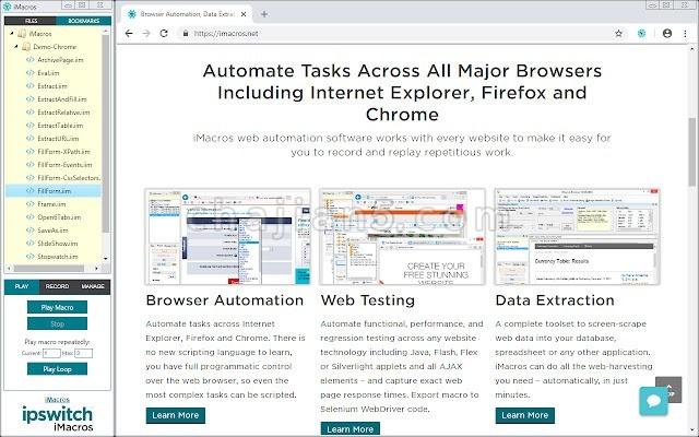 iMacros for Chrome 浏览器重复工作自动化插件 填表单 注册登录