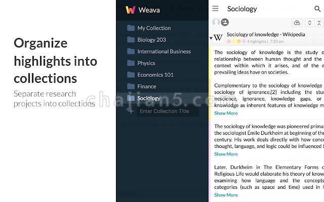 PDF萤光标记工具Weava