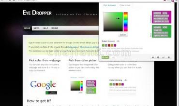 前端开发 浏览器窗口内取色器Eye Dropper
