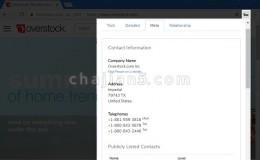 查看网站用到的建站技术Chrome插件BuiltWith Technology Profiler