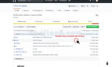 GitZip for github只下载Github项目仓库部分文件