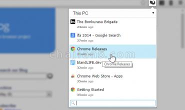 Chrome撤销已关闭的网页和该标签历史的插件SimpleUndoRecents