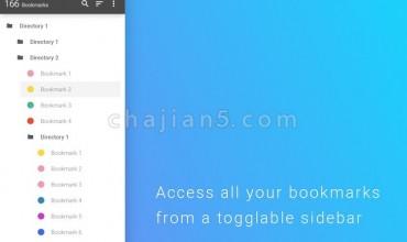 Bookmark Sidebar侧边栏书签/收藏夹插件