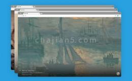 Google 艺术与文化-每打开一个新标签页显示新的背景图插件