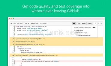 Codeclimate 在Github上做代码测试