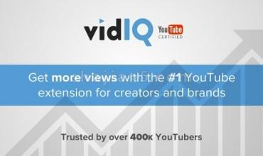 vidIQ Vision for YouTube为任何YouTube视频提供全面的分析优化报告卡