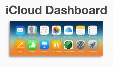 iCloud Dashboard 苹果iCloud 服务的控制面板快速链接
