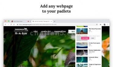 Padlet Mini-实时协作建站工具Chrome浏览器插件