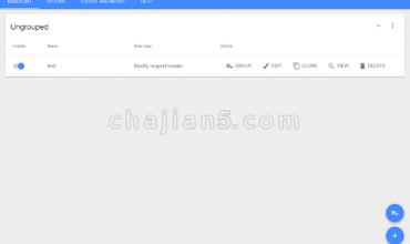 Header Editor-修改浏览器请求头和响应头、重定向请求、取消请求