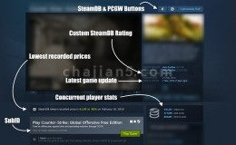 STEAM游戏平台数据库插件Steam Database