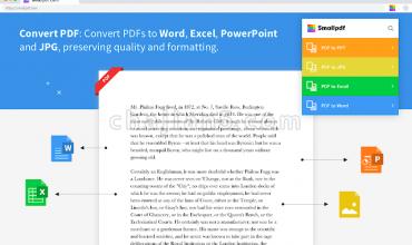 Smallpdf – 编辑、压缩与转换PDF文件