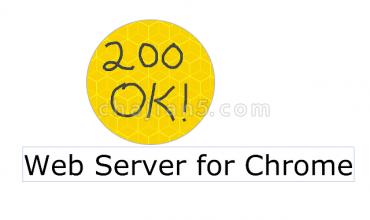Web Server for Chrome本地WEB服务器环境搭建