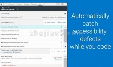 axe – Web Accessibility Testing 开发者辅助功能检查器