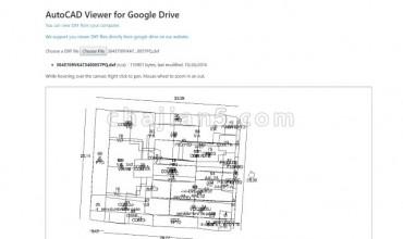 AutoCAD Viewer 从Google云端硬盘或本地计算机查看DXF文件