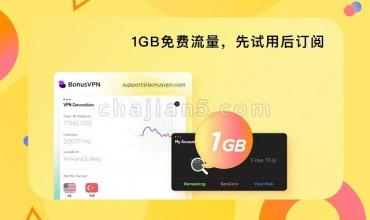 Bonus VPN – 海外华人访问国内网站的加速器