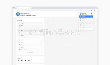 Address bar search engine switcher地址栏搜索切换器
