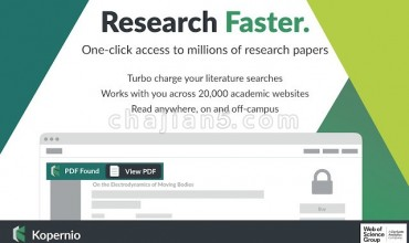 Kopernio – powered by Web of Science学术期刊全文文献获取