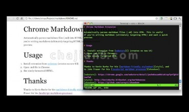 Markdown Preview Plus自动把Markdown转换为HTML语法