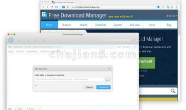 Download with Free Download Manager (FDM)下载管理器