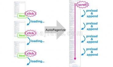 AutoPagerize自动翻页插件