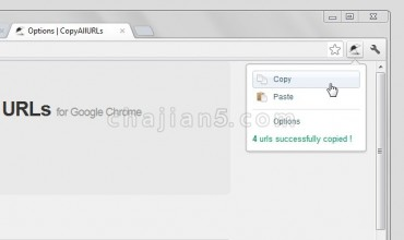 Copy All Urls 所有打开的选项卡URL复制到剪贴板