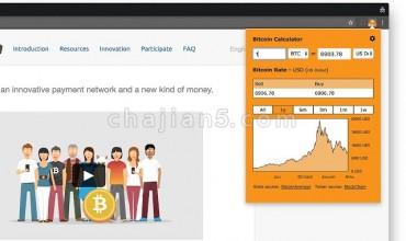 Bitcoin Extension比特币汇率查询插件