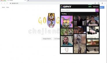 GIPHY for Chrome 支持在Gmail、Facebook、Twitter、Slack中插入GIF动图