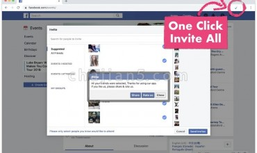 Invite All Friends for Facebook™点击一下自动邀请所有朋友加入活动或页面