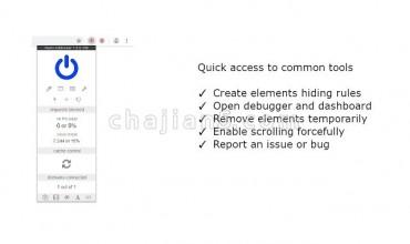 Nano Adblocker 基于uBlock Origin的网页广告屏蔽插件